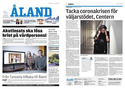 Ålandstidningen – 07 april 2020