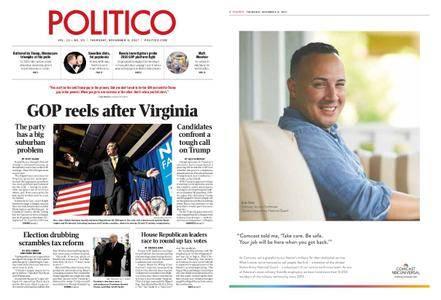 Politico – November 09, 2017