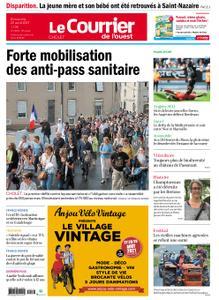 Le Courrier de l'Ouest Cholet – 22 août 2021