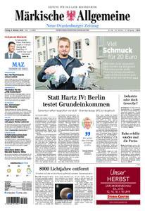 Neue Oranienburger Zeitung - 05. Oktober 2018