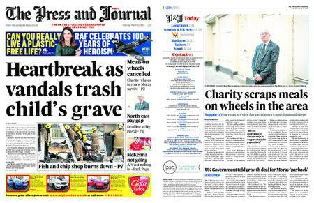 The Press and Journal Moray – March 31, 2018