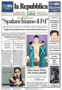 la Repubblica - 28 Gennaio 2020