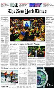 International New York Times - 16 February 2018