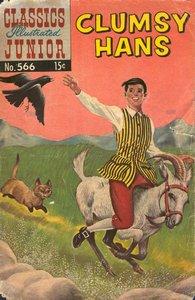 Clumsy Hans - Classics Illustrated Junior - 566
