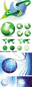 Stock Vector - Earth