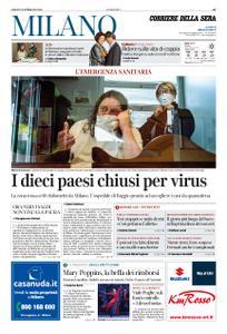 Corriere della Sera Milano – 22 febbraio 2020