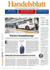 Handelsblatt - 10. September 2019