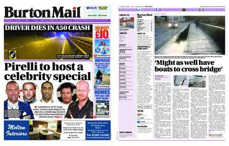 Burton Mail – January 11, 2018