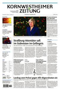 Kornwestheimer Zeitung - 13. Dezember 2018