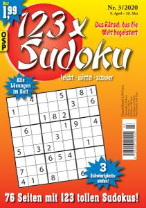 123 x Sudoku Nr.3 - 9 April 2020