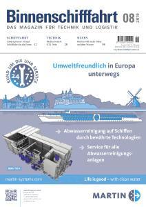 Binnenschifffahrt - August 2019