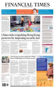 Financial Times USA - May 22, 2020