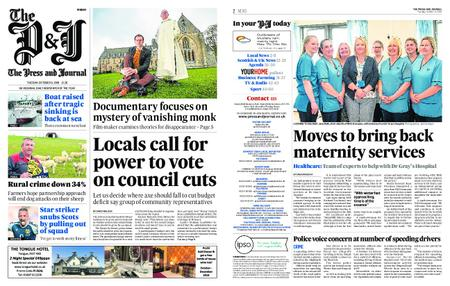 The Press and Journal Moray – October 09, 2018