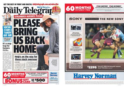 The Daily Telegraph (Sydney) – September 17, 2020