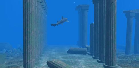 Atlantis 3D Screensaver v1.0