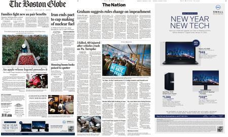 The Boston Globe – January 06, 2020