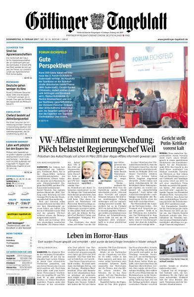 Göttinger Tageblatt - 9 Februar 2017