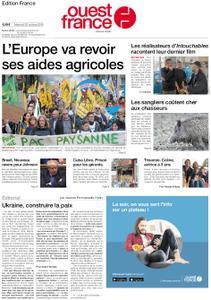 Ouest-France Édition France – 23 octobre 2019