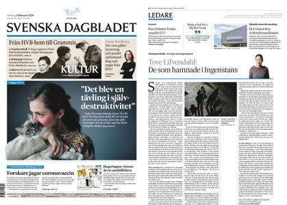 Svenska Dagbladet – 02 februari 2020