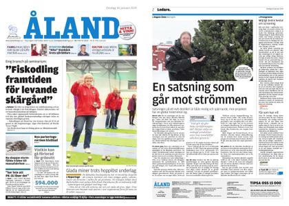 Ålandstidningen – 30 januari 2019