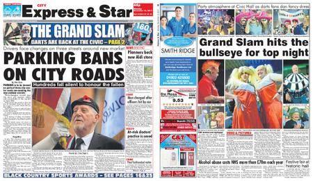 Express and Star City Edition – November 13, 2017