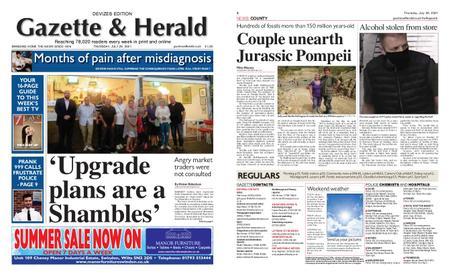Gazette & Herald – July 29, 2021