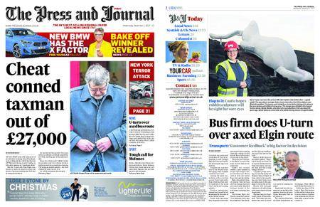 The Press and Journal Moray – November 01, 2017