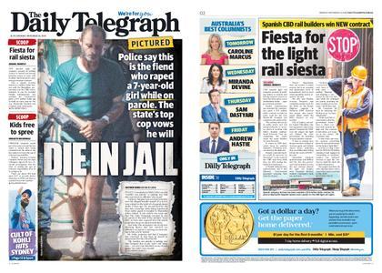 The Daily Telegraph (Sydney) – November 26, 2018
