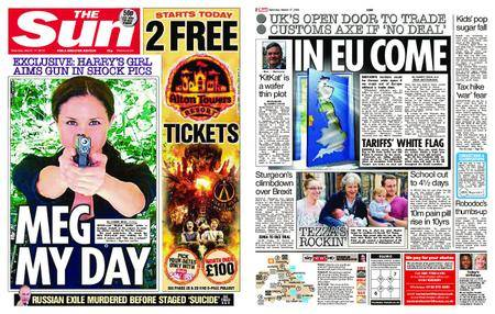 The Sun UK – 17 March 2018