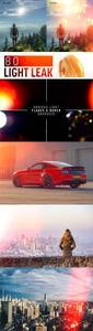 80 Light Leak Overlays for Creating Vibrant Photo Effects