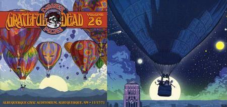 Grateful Dead - Dave's Picks Volume 26: Albuquerque Civic Auditorium, NM 11/17/71 (3CD + Bonus Disc) (2018)