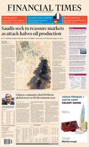 Financial Times Europe – 16 September 2019