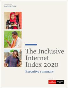 The Economist (Intelligence Unit) - The Inclusive Internet Index 2020, Executive summary (2020)
