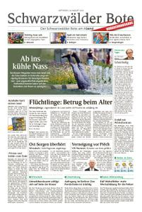 Schwarzwälder Bote Hechingen - 28. August 2019
