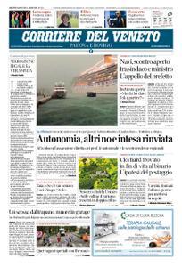 Corriere del Veneto Padova e Rovigo – 09 luglio 2019