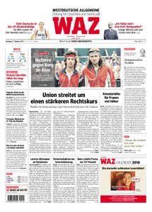 WAZ Westdeutsche Allgemeine Zeitung Oberhausen-Sterkrade - 17. Oktober 2017