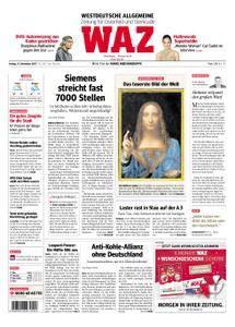 WAZ Westdeutsche Allgemeine Zeitung Oberhausen-Sterkrade - 17. November 2017