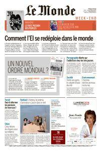 Le Monde du Samedi 16 Juin 2018