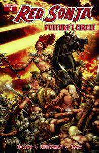 Red Sonja Vultures Circle 0042015 3 covers Digital Exclusive Edition
