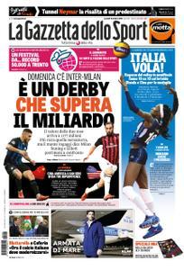 La Gazzetta dello Sport Roma – 16 ottobre 2018