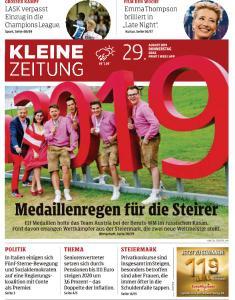 Kleine Zeitung Steiermark - 29 August 2019