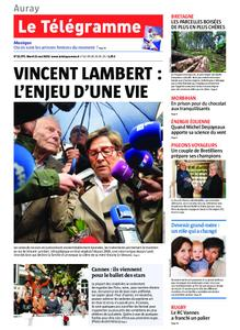 Le Télégramme Auray – 21 mai 2019