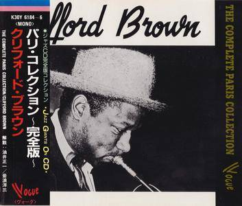 Clifford Brown - The Complete Paris Collection (1953) {3CD Set Vogue Japan, K30Y-6184~6, Early Press rel 1987}