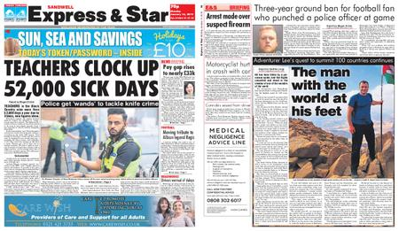 Express and Star Sandwell Edition – January 14, 2019