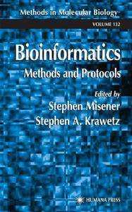 Bioinformatics Methods and Protocols