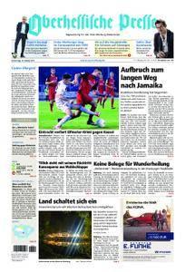 Oberhessische Presse Marburg/Ostkreis - 19. Oktober 2017