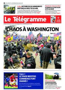 Le Télégramme Ouest Cornouaille – 07 janvier 2021