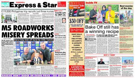Express and Star Sandwell Edition – August 29, 2017