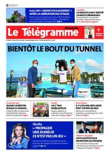Le Télégramme Brest Abers Iroise – 02 mai 2021