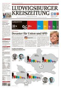 Ludwigsburger Kreiszeitung - 25. September 2017
